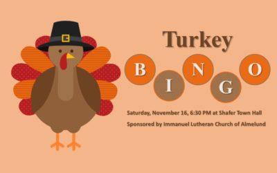 Run to Turkey Bingo!